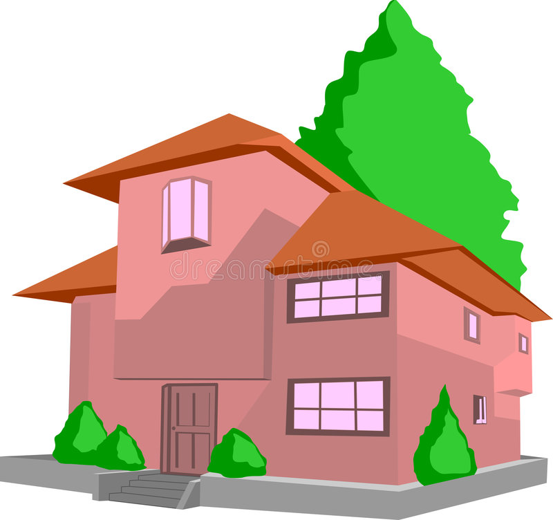 σπίτι απεικόνιση αποθεμάτων