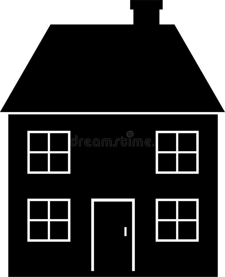 σπίτι ελεύθερη απεικόνιση δικαιώματος