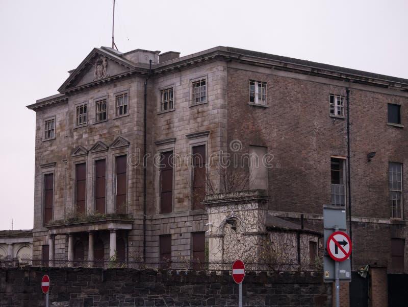 Σπίτι Aldborough, μεγάλο παλαιό της Γεωργίας μέγαρο στον υπόλοιπο κόσμο του Πόρτλαντ, Δουβλίνο, Ιρλανδία στοκ φωτογραφία