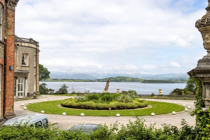 Σπίτι Bantry στη κομητεία Κορκ, Ιρλανδία Bantry στοκ φωτογραφία με δικαίωμα ελεύθερης χρήσης