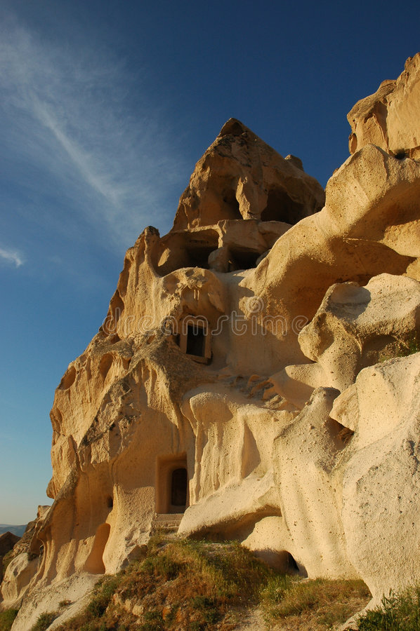 σπίτι cappadocia στοκ εικόνες με δικαίωμα ελεύθερης χρήσης