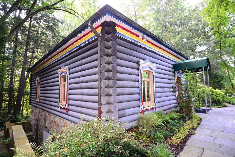 Σπίτι Dacha στα κτήματα Hillwood στοκ φωτογραφία με δικαίωμα ελεύθερης χρήσης