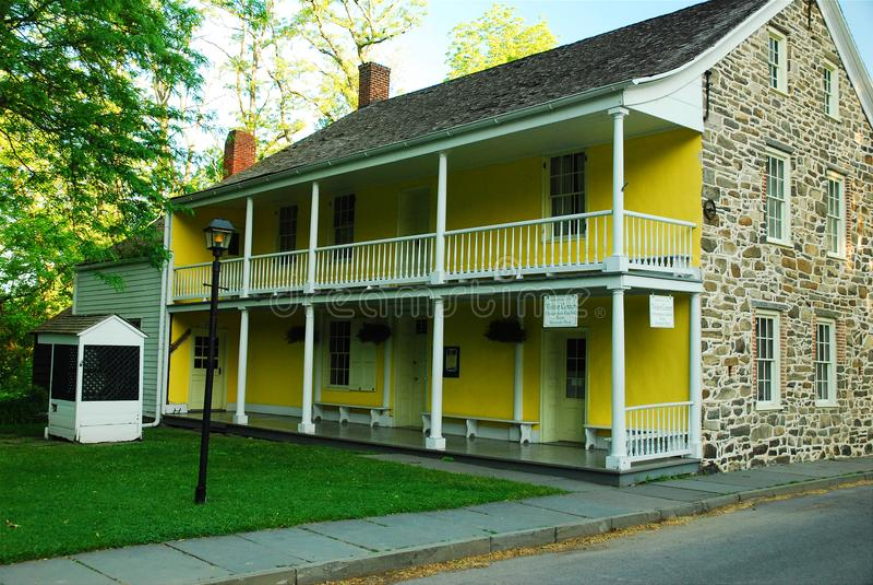 Σπίτι Dubois, νέο Paltz στοκ φωτογραφίες