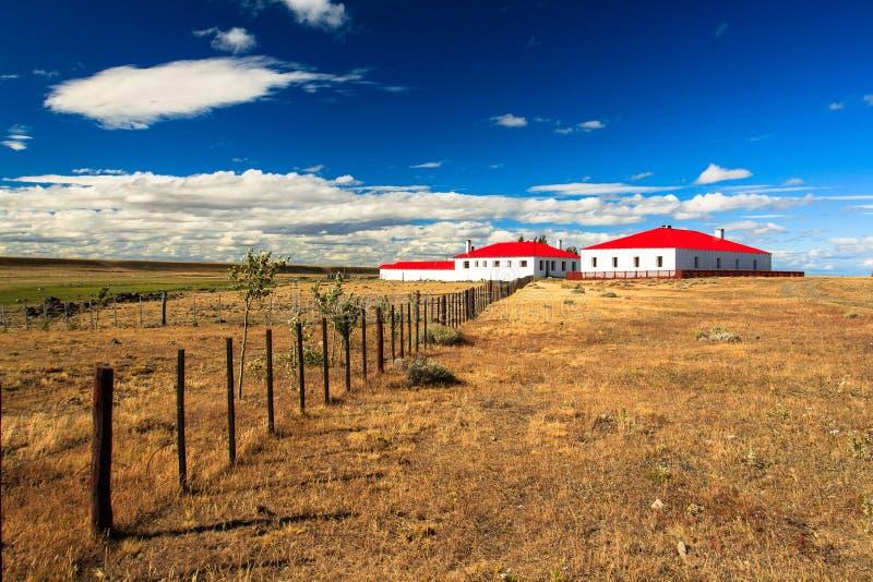 Σπίτι Gaucho στο estancia στοκ εικόνες