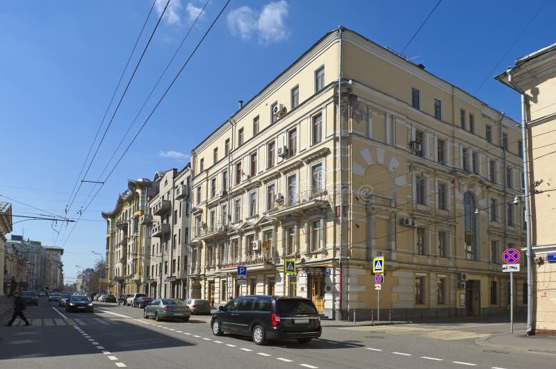 Σπίτι Kalabuhovsky, Μόσχα στοκ φωτογραφία με δικαίωμα ελεύθερης χρήσης