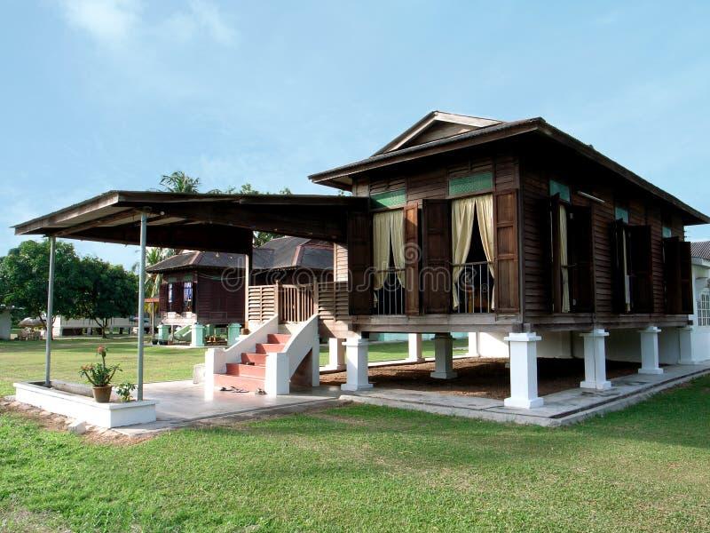 Σπίτι Kampung στοκ εικόνες
