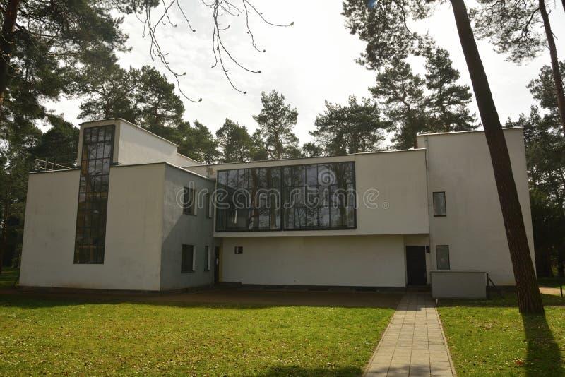 Σπίτι Kandinsky/Klee σε dessau-Rosslau στοκ φωτογραφίες