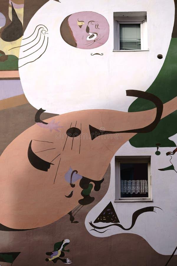 Σπίτι Koblenz Miro στοκ εικόνα με δικαίωμα ελεύθερης χρήσης
