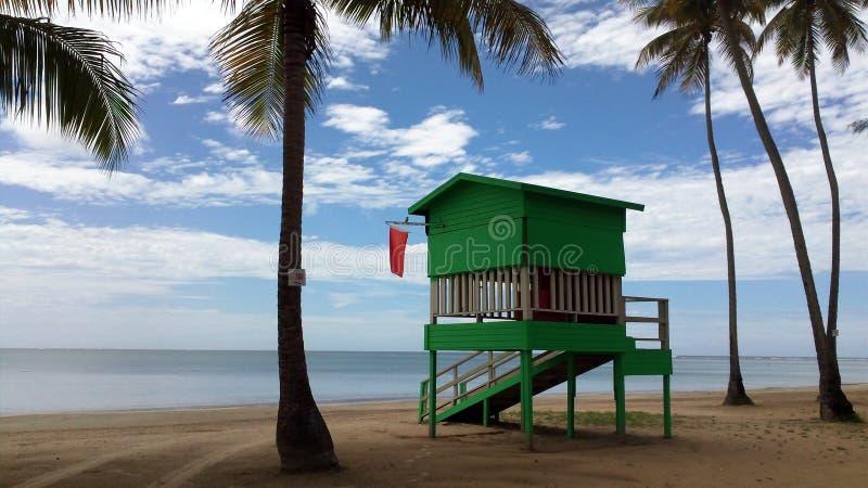 Σπίτι Lifeguard στοκ φωτογραφία με δικαίωμα ελεύθερης χρήσης