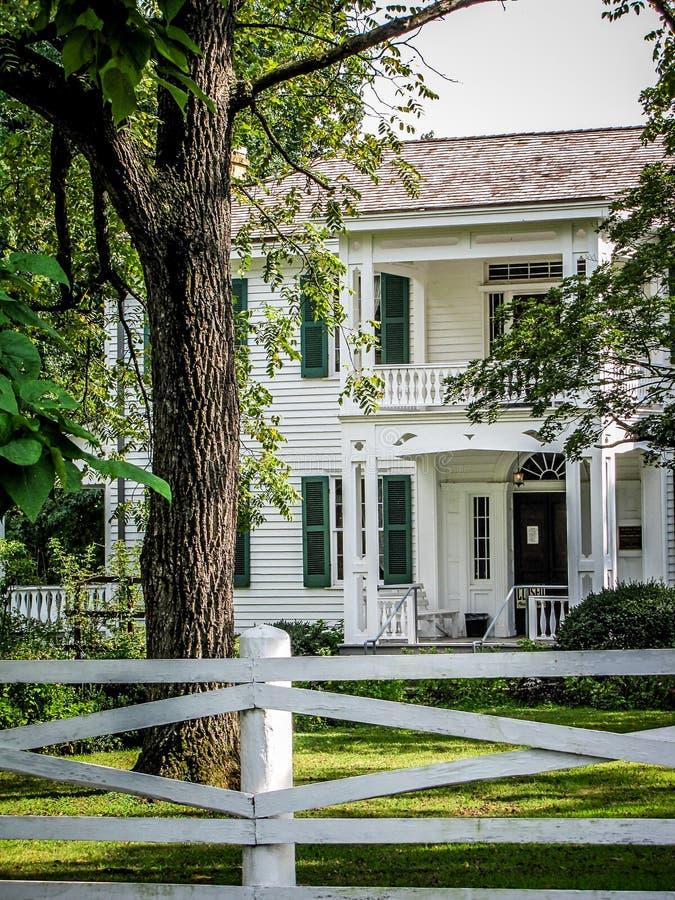 Σπίτι Murrell στην Οκλαχόμα στοκ φωτογραφία