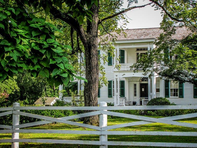 Σπίτι Murrell στην Οκλαχόμα στοκ εικόνες με δικαίωμα ελεύθερης χρήσης