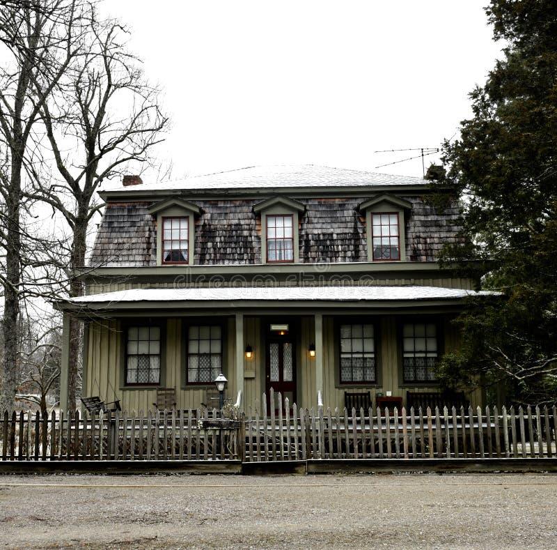 Σπίτι Newbury στοκ φωτογραφίες