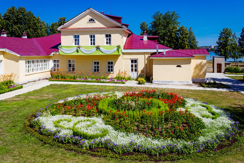 Σπίτι Tchaikovsky στοκ εικόνα με δικαίωμα ελεύθερης χρήσης