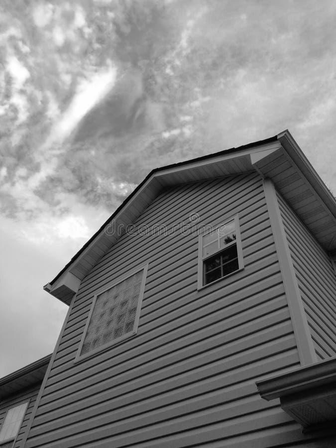 Σπίτι @ VA, ΗΠΑ στοκ φωτογραφία