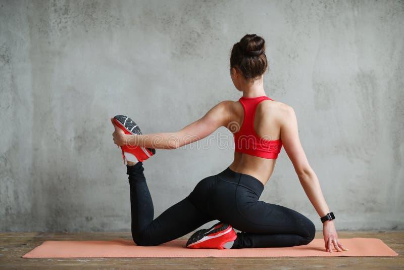 σπίτι workout στοκ εικόνα