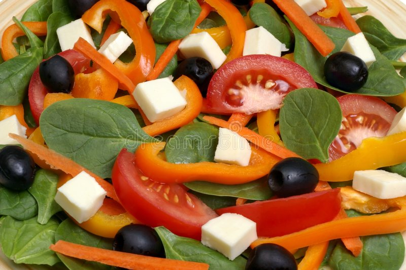 σπανάκι σαλάτας στοκ φωτογραφία με δικαίωμα ελεύθερης χρήσης