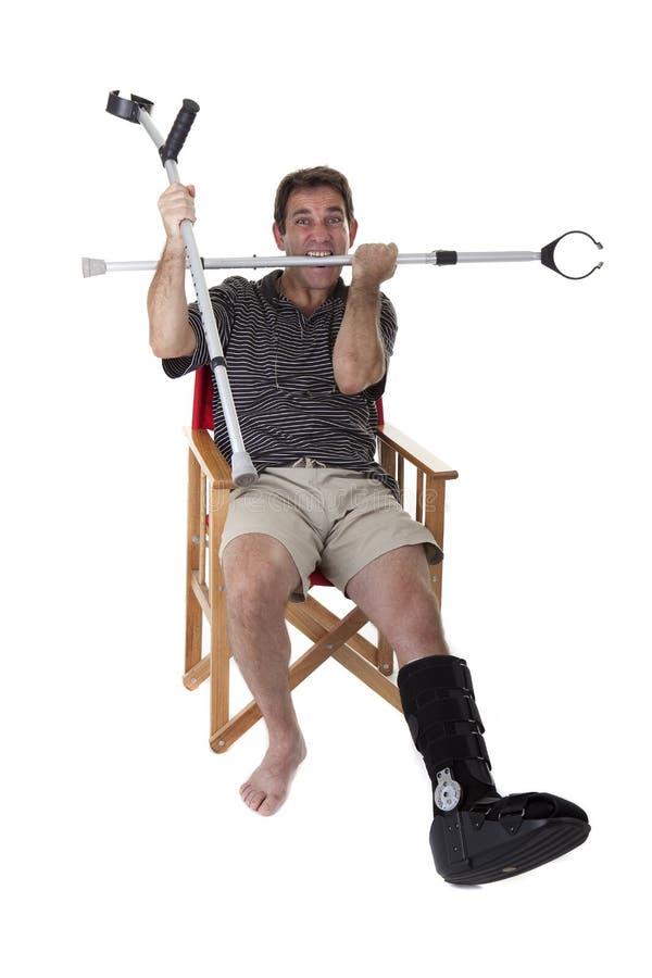 Σπασμένα πόδια στοκ φωτογραφία με δικαίωμα ελεύθερης χρήσης