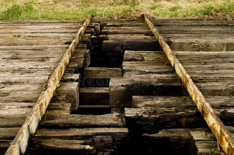 Σπασμένη γέφυρα στοκ εικόνες