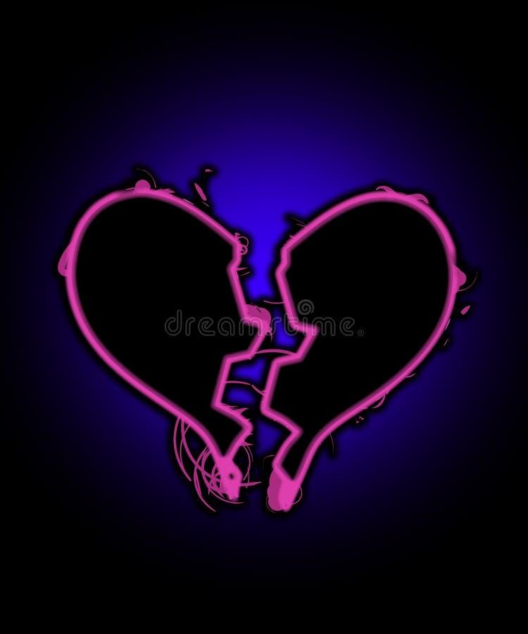σπασμένη καρδιά μου Στοκ Εικόνες