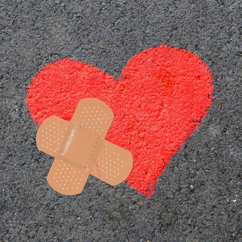 Download σπασμένη καρδιά στοκ εικόνα. εικόνα από σύγκρουση, πίεση - 22784537
