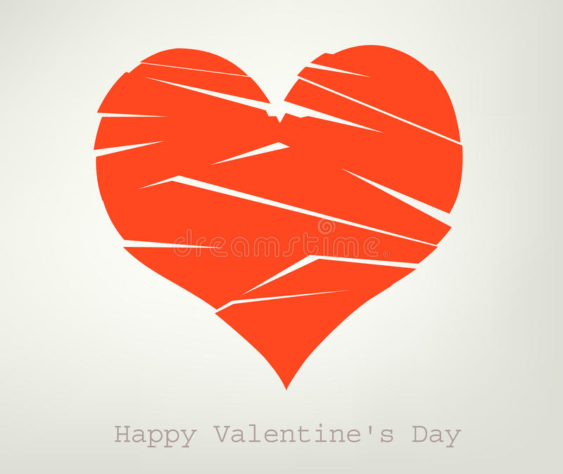 Download σπασμένη καρδιά διανυσματική απεικόνιση. εικονογραφία από past - 22799158