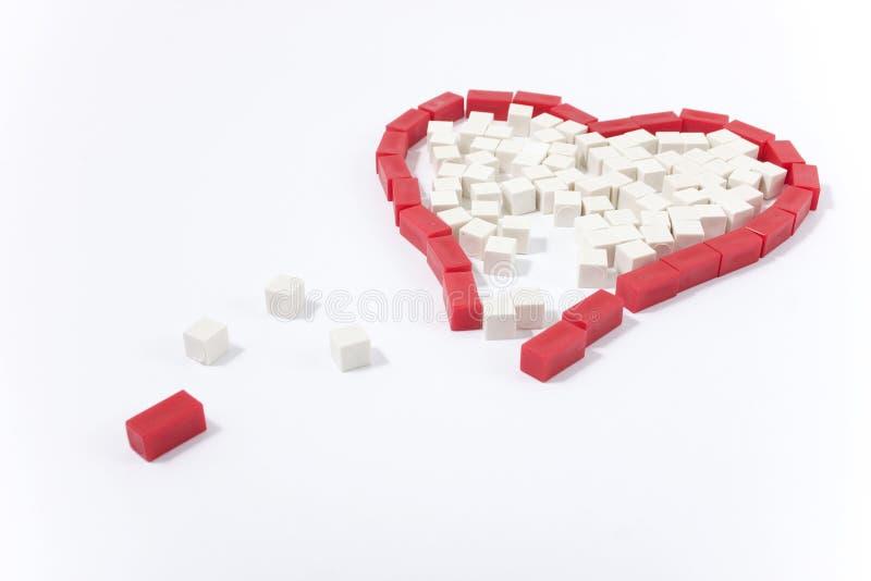 σπασμένη καρδιά στοκ φωτογραφίες με δικαίωμα ελεύθερης χρήσης