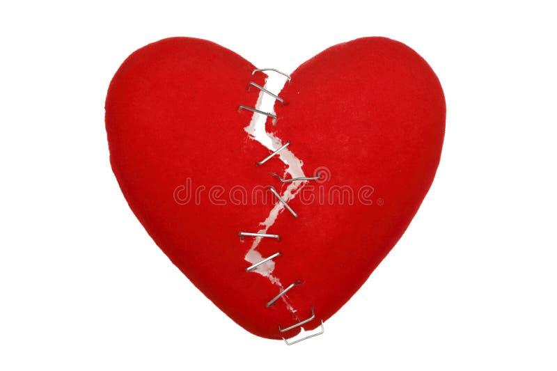 σπασμένη καρδιά στοκ εικόνα