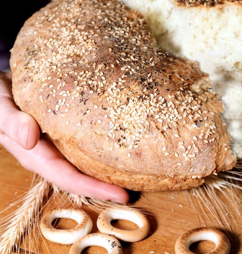 σπασμένη ψωμί πατάτα στοκ φωτογραφίες με δικαίωμα ελεύθερης χρήσης