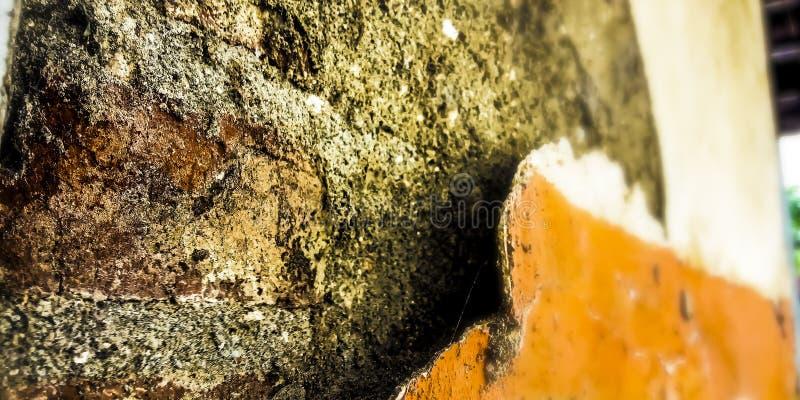 Σπασμένος τοίχος στοκ εικόνες