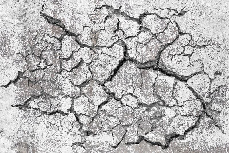 Σπασμένος Grunge συμπαγής τοίχος στοκ εικόνα