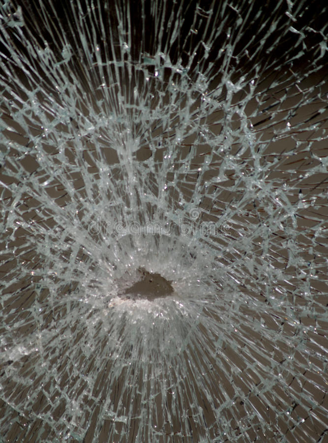 σπασμένο γυαλί στοκ φωτογραφία