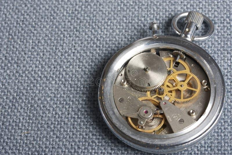 Σπασμένο χρονόμετρο με διακόπτη στοκ φωτογραφία με δικαίωμα ελεύθερης χρήσης