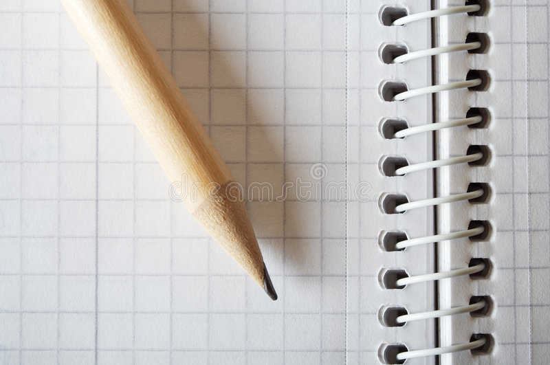 σπείρα μολυβιών σημειωμ&alpha στοκ εικόνες
