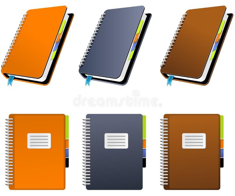 σπείρα σημειωματάριων ελεύθερη απεικόνιση δικαιώματος
