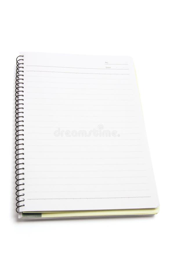 σπείρα σημειώσεων βιβλίων στοκ εικόνες με δικαίωμα ελεύθερης χρήσης