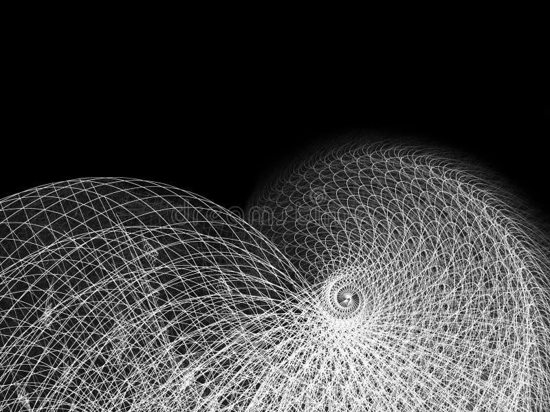 σπειροειδές καλώδιο γρ διανυσματική απεικόνιση