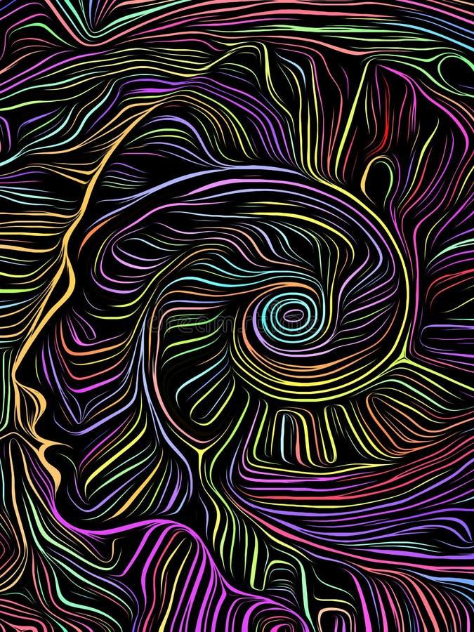 Σπειροειδής ξυλογραφία εγκεφάλου απεικόνιση αποθεμάτων