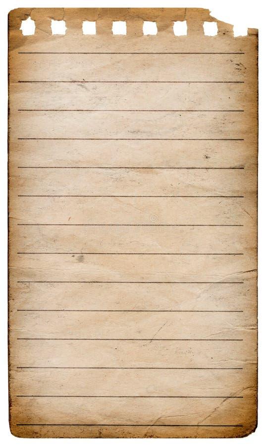 Σπειροειδές έγγραφο σημειωματάριων στοκ εικόνες