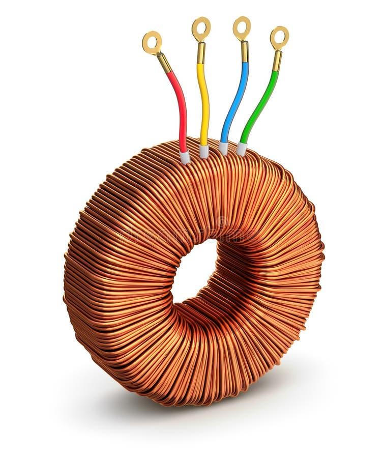 Σπειροειδής μετασχηματιστής απεικόνιση αποθεμάτων