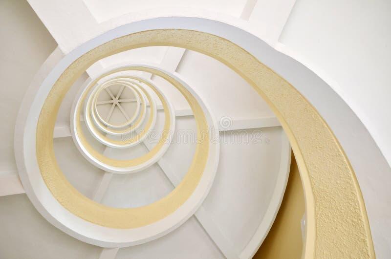 Σπειροειδής σκάλα σε μια παγόδα στοκ φωτογραφίες με δικαίωμα ελεύθερης χρήσης
