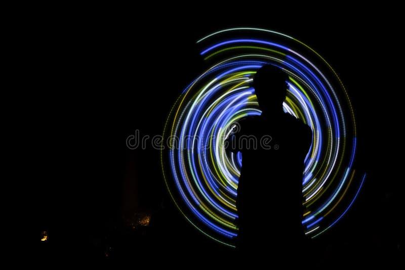 Σπειροειδής σκιαγραφία POI στοκ εικόνα με δικαίωμα ελεύθερης χρήσης