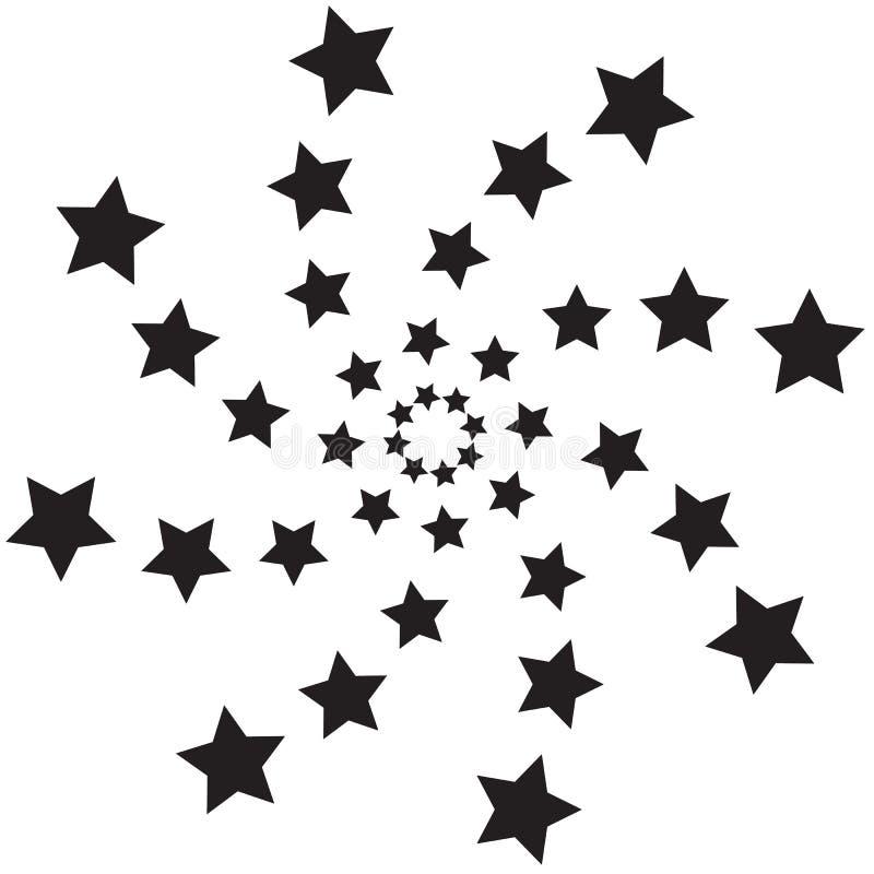 Σπειροειδή αστέρια ελεύθερη απεικόνιση δικαιώματος