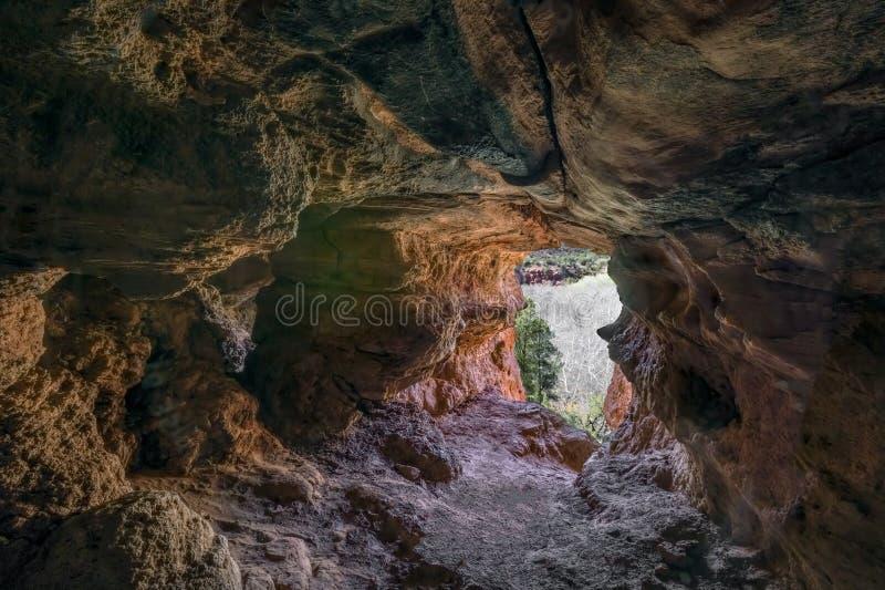 Σπηλιά αέρα κοντά σε Sedona στοκ φωτογραφία