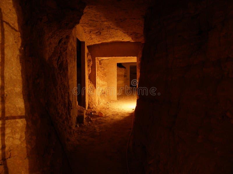 σπηλιά κατακομβών Στοκ Εικόνες