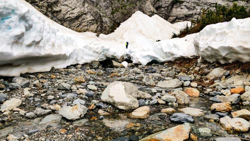Σπηλιά πάγου μωρών στοκ εικόνες