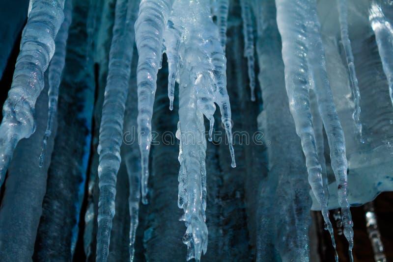 Σπηλιά παγακιών στοκ φωτογραφία