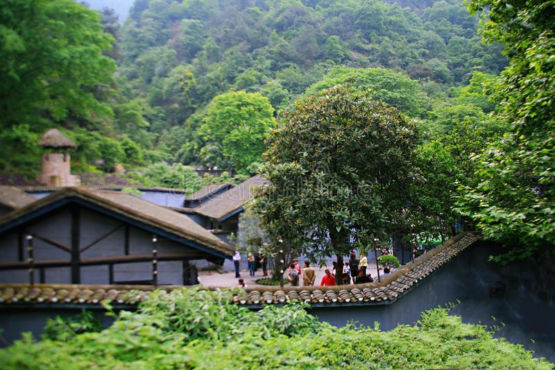 Σπηλιά της Cinder σε Chongqing στοκ εικόνα με δικαίωμα ελεύθερης χρήσης
