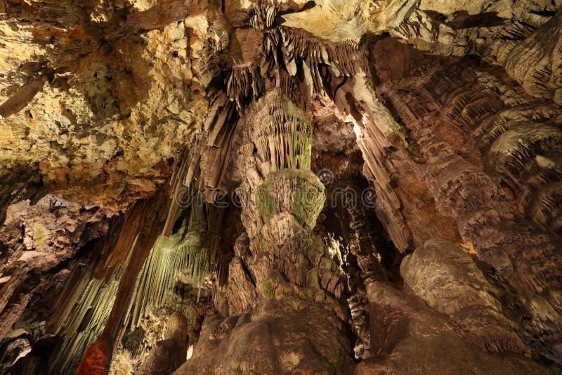 Σπηλιά του ST Michael στο Γιβραλτάρ στοκ εικόνες με δικαίωμα ελεύθερης χρήσης