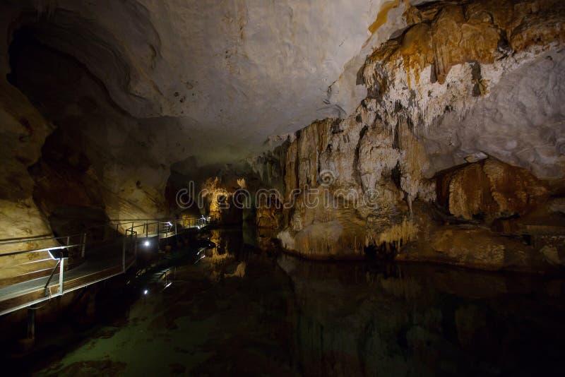 Σπηλιά Bue Marino, Σαρδηνία, Ιταλία στοκ εικόνα με δικαίωμα ελεύθερης χρήσης