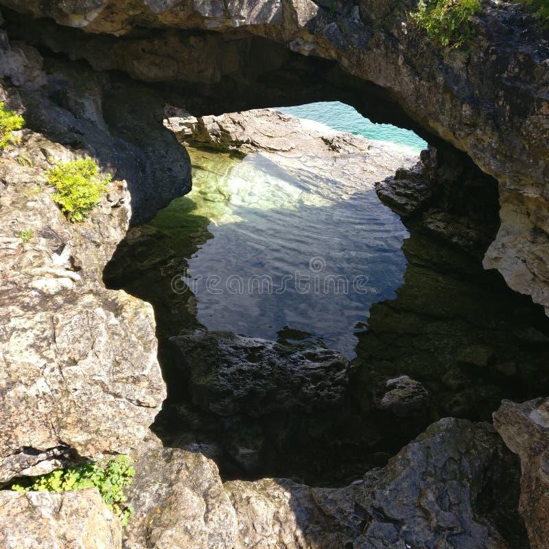 Σπηλιά ακροθαλασσιών στοκ εικόνα με δικαίωμα ελεύθερης χρήσης